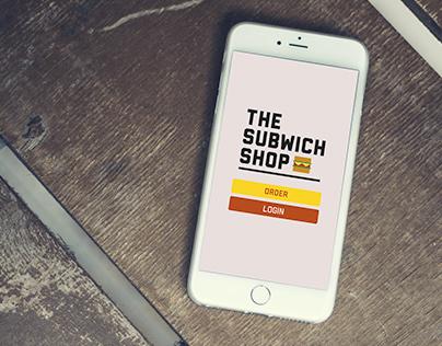 The Subwich Shop - UX Design