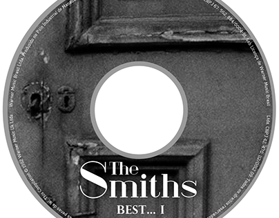 "Redesign do CD "" The Smiths Best...1"""