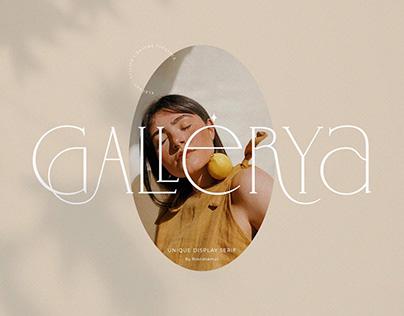 Gallerya - Unique Ligature Typeface