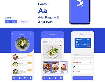 FooDis App UI Design