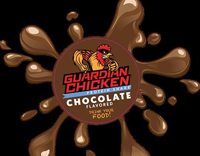 Guardian Chicken Logo Design