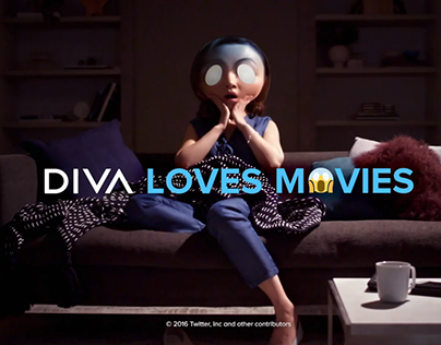 DIVA Loves Movies - Ident - Mystery