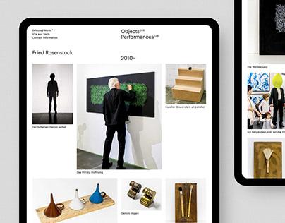 Fried Rosenstock Website