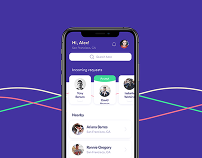 Connect Family - Social Network UI/UX