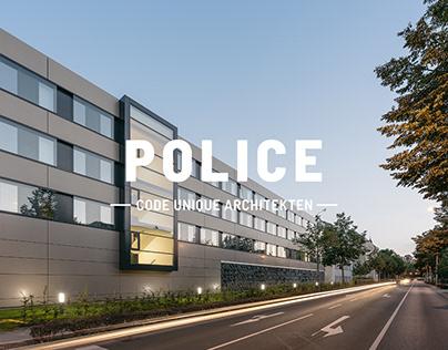 Polizeidirektion Zwickau × Code Unique Architekten