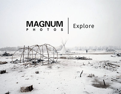 Magnum Photos Explore Photo Interface