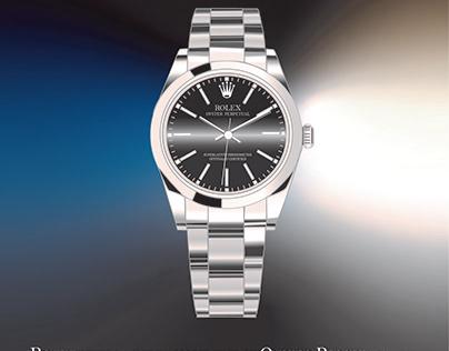 Rolex Watch Poster