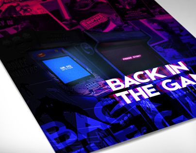 Back in the Game / poster design