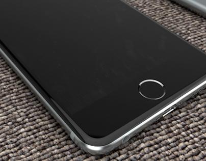 3D Renders of iphones 2016