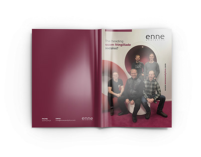 enne Magazine Design #01