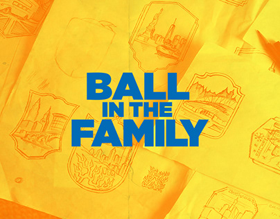 Ball In The Family Badges