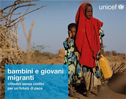 Bambini e giovani migranti — Unicef Catania