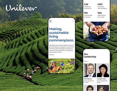 UNILEVER — Redesign Concept 2020