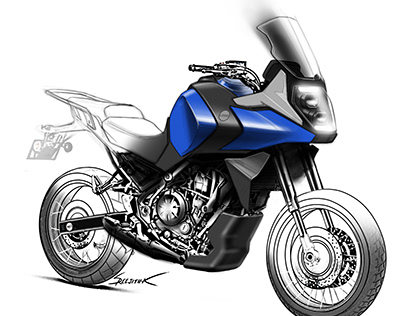 Adventure Moto Sketches