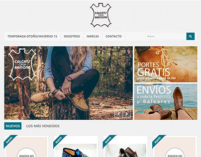 WEB DESIGNER - Zapatos Casa Ramona