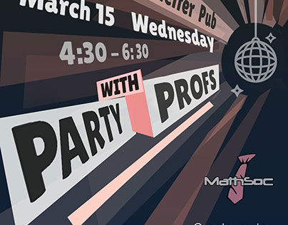 Party with Profs promotions
