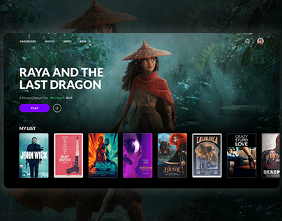 Streaming Service Concept
