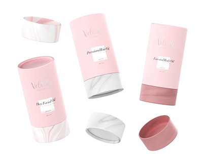 Velvette Organics - Packaging Design