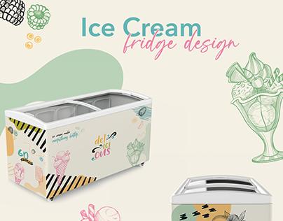 ice cream / fridge design