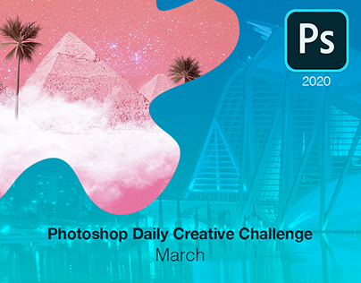 Photoshop Daily Creative Challenge - March