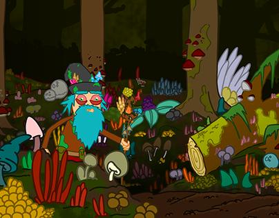 Die Abenteuer vom Pilzzauberer - Hintergründe für Serie