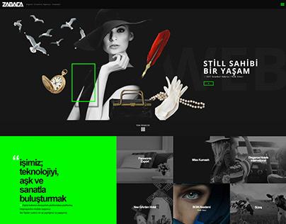 Digital Agency Web Site UI Design