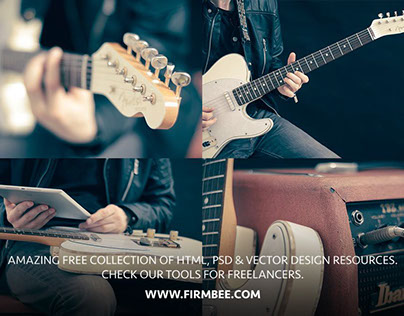 Free music PNG photos and PSD mockups