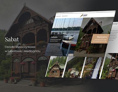 Stron www dla hotelu sabat.info.pl
