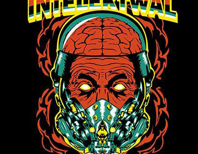 Cyberpunk Einstein [sold to Intelektwal Clothing]