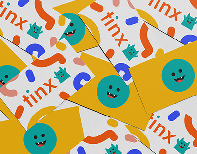 Logo for a brand of children's clothing –tinx