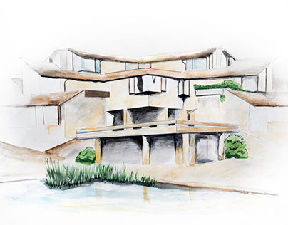 Architectural rendering sample/test