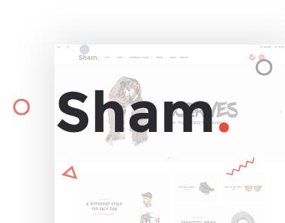 Sham - eCommerce UI/UX Design