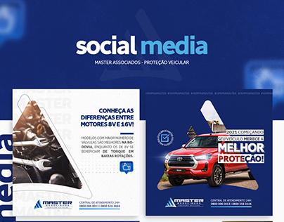 Social Media - Proteção Veicular