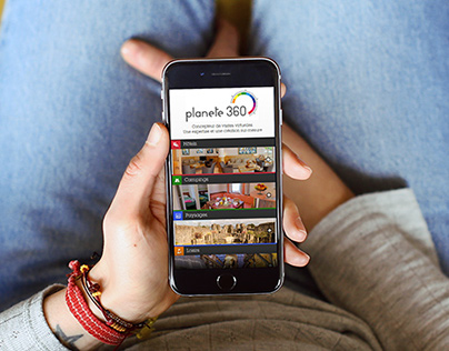 Planete360 | Site mobile