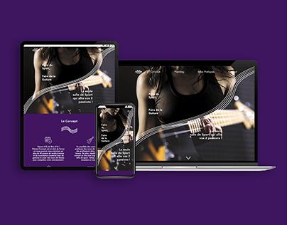 Interface Web : Création d'une Salle de Sport Atypique