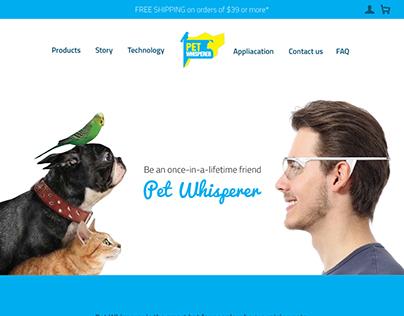 UI/UX - Pet Whisperer