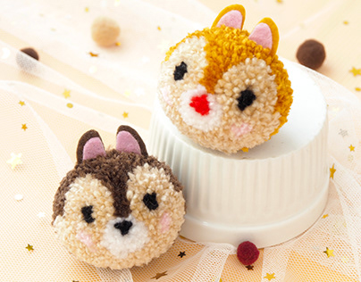 How to Make Pompom Chip & Dale