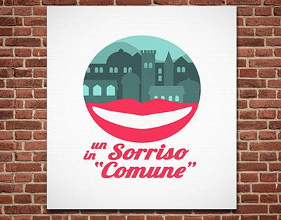 """logo """"Un Sorriso in Comune"""""""