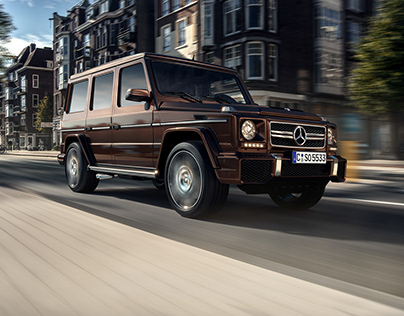 Mercedes-Benz G Wagon - CGI