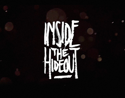 Coverdesign & Animation Video | Inside The Hideout - LP