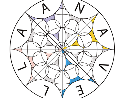 Anavella Creative Agency. Logo design concept