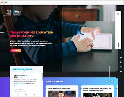 UNESCO MGIEP Website