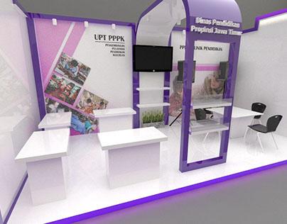 Dinas Pendidikan Jawa Timur Exhibition Booth