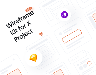 Wireframe Kit for X Project