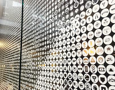 """Nike """"We Are LA"""" Graphic Mural"""