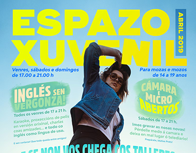 Espazo Xuvenil - March and april 2019