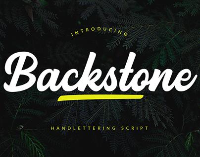 Backstone - Handlettering Script