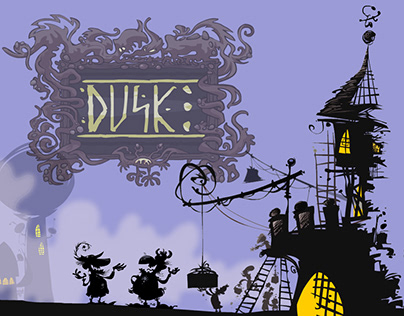 """""""Dusk"""" is my independent comic book project."""