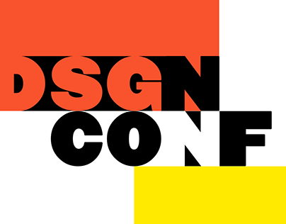 Promo site for the design conference