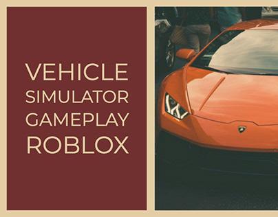 Roblox Cheat Vehicle Simulator Youtube Simulator